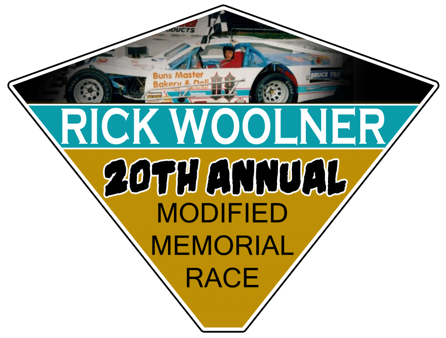The 20th Rick Woolner Memorial Modified race will be on July 6th